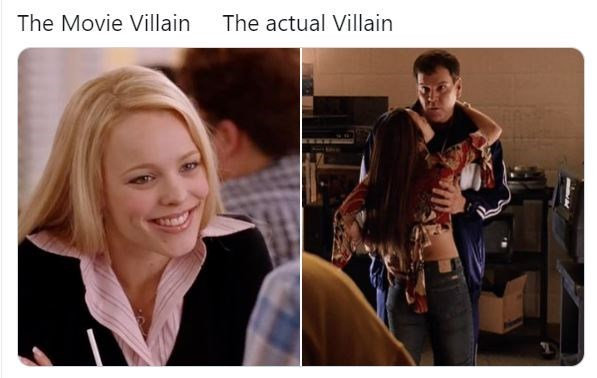 Facial expression - The Movie Villain The actual Villain
