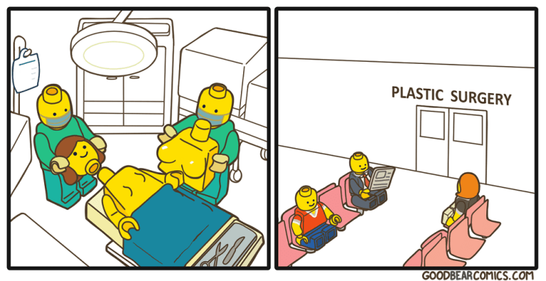 Yellow - PLASTIC SURGERY GOODBEARCOMICS.COM