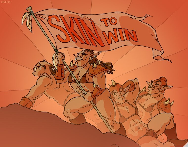 Cartoon - oglaf.com SKON TO WIN