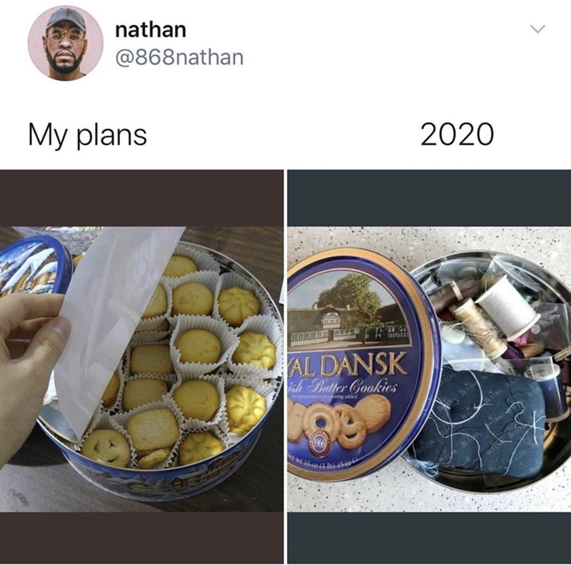 Food - nathan @868nathan My plans 2020 IT 1920407 17-11 H AL DANSK ish Butter Gookies