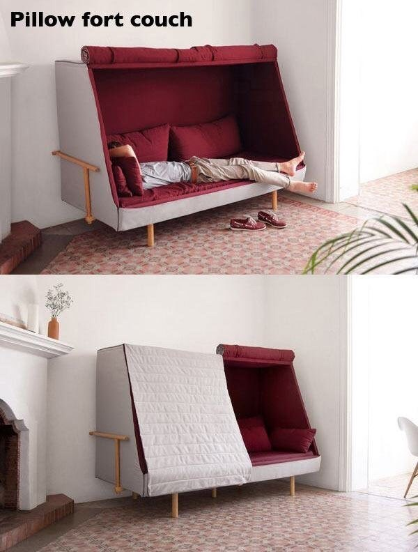 Furniture - Pillow fort couch AYEND