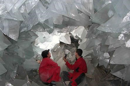world's biggest crystal cave found in spain