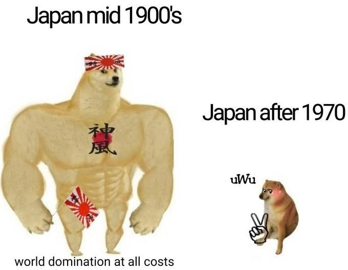 Organism - Japan mid 1900's Japan after 197O 風 uWu world domination at all costs