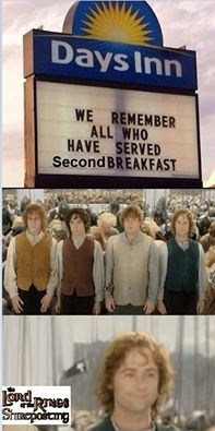 Event - Days Inn WE REMEMBER ALL WHO HAVE SERVED Second BREAKFAST Shrmepoiamg