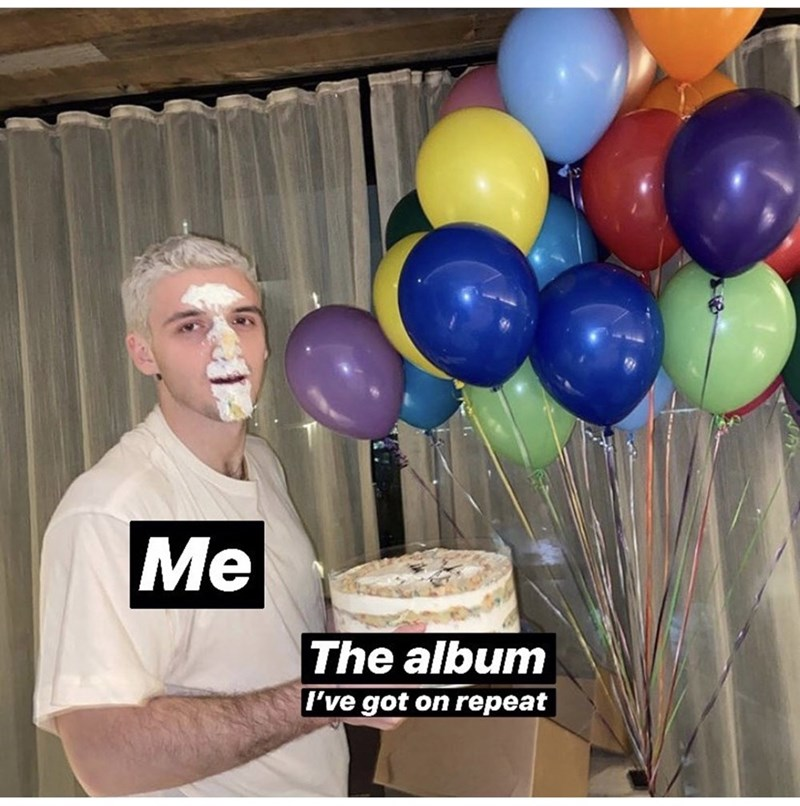 Balloon - Me The album I've got on repeat