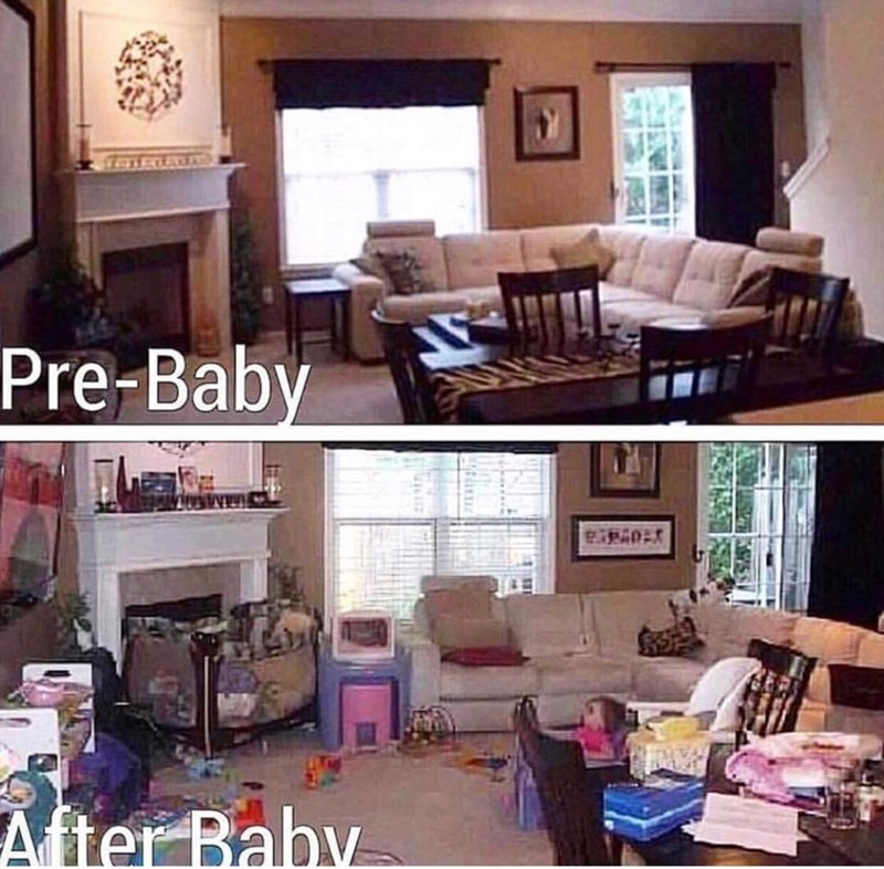 Property - Pre-Baby After Baby