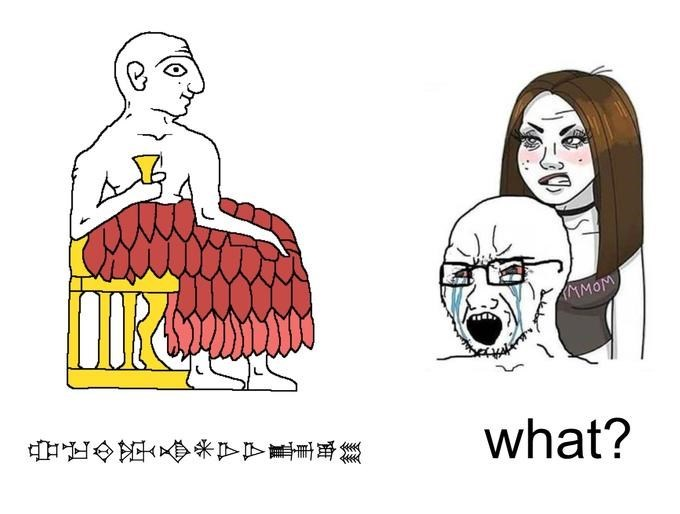 Cartoon - MMOM 中正少路米下下基車 what?