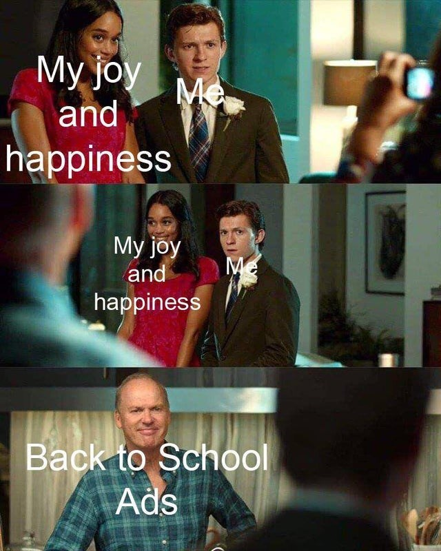 Television program - Мy joy Me and happiness My joy and Me happiness Back to School Ads