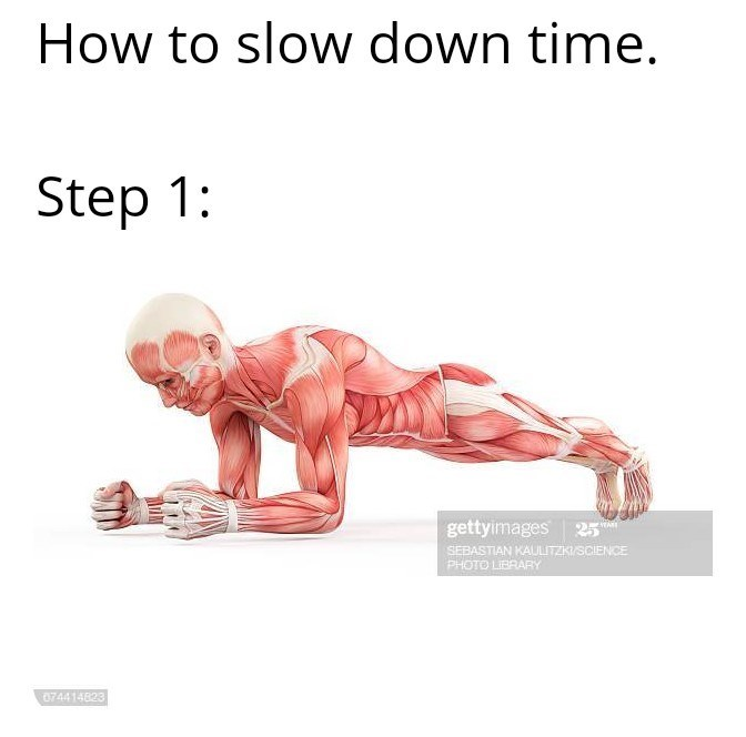 Press up - How to slow down time. Step 1: gettyimages 25 SEBASTIAN KAULITZKISCIENCE PHOTO LIBRARY 074414823