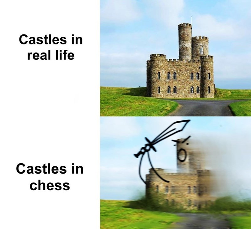 Castle - Castles in real life 111 Castles in chess