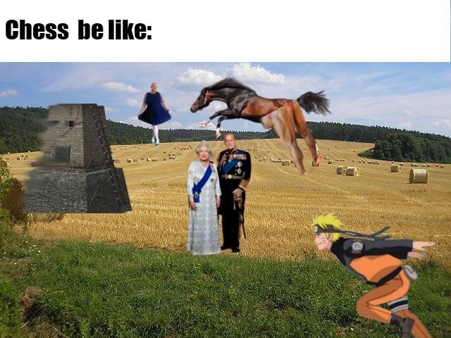 Recreation - Chess be like: