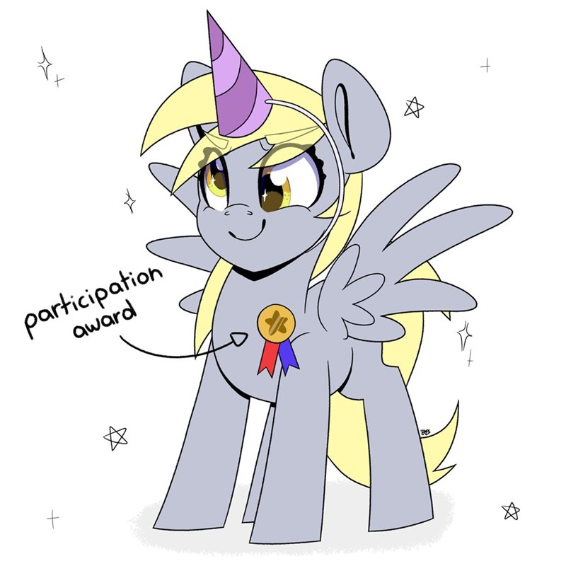 derpy hooves party like an artist - 9491896320