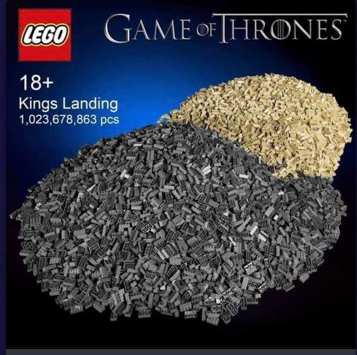 Product - LEGO GAME OF THRONES 18+ Kings Landing 1,023,678,863 pcs GAS