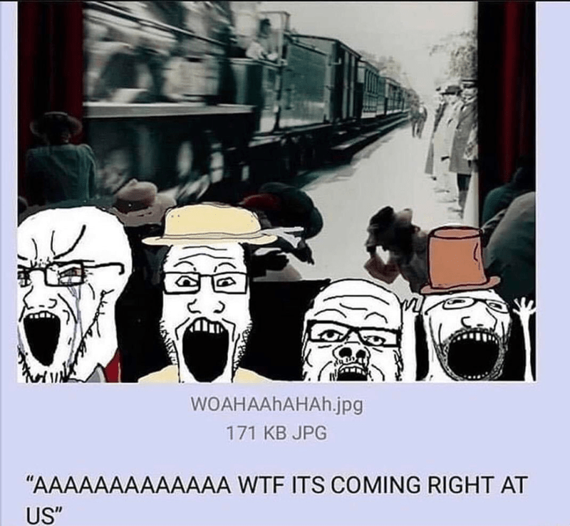 "Cartoon - WOAHAAHAHAH.jpg 171 KB JPG ""AAAAAAAAAAAAA WTF ITS COMING RIGHT AT US"""