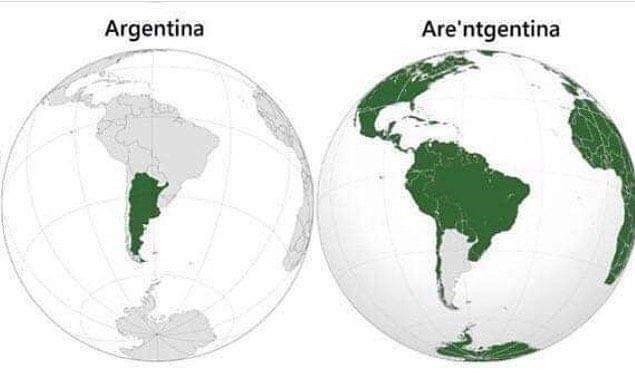 World - Argentina Are'ntgentina