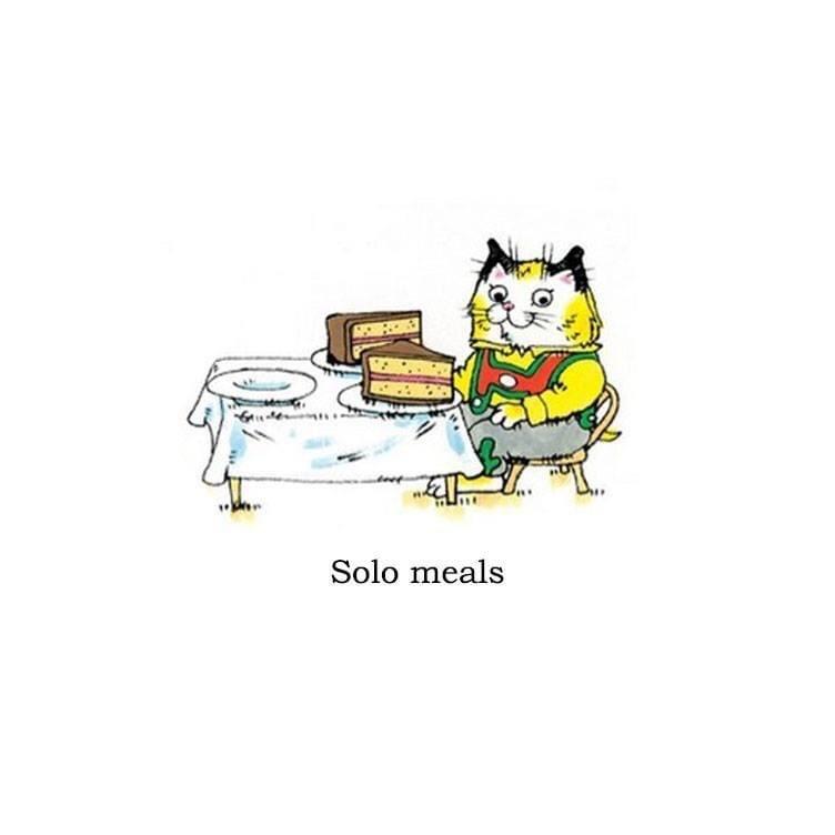 Cartoon - Solo meals