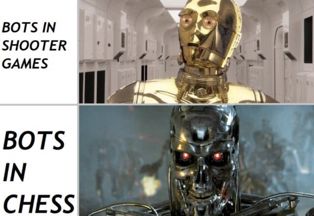 C-3po - BOTS IN SHOOTER GAMES ВOTS IN CHESS