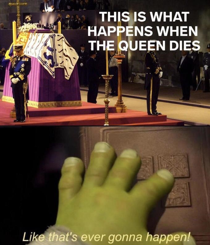 Finger - THIS IS WHAT HAPPENS WHEN THE QUEEN DIES Like that's ever gonna happen! বনে