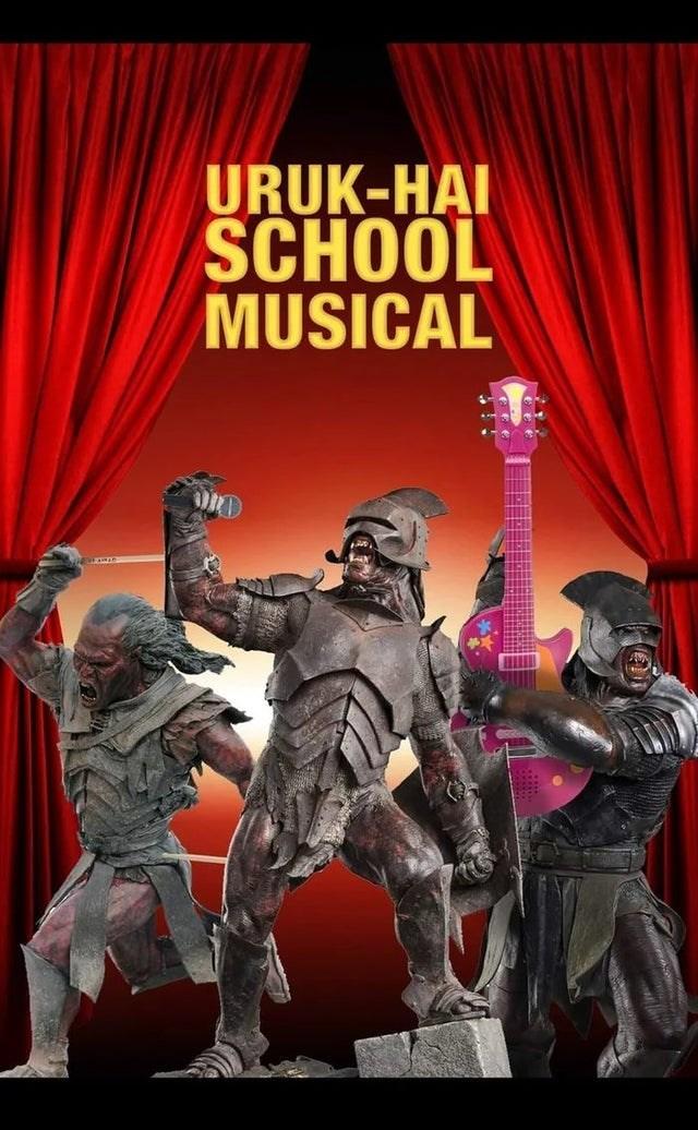 Movie - URUK-HAI SCHOOL MUSICAL