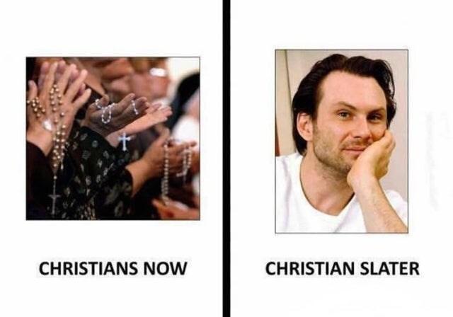 Face - CHRISTIANS NOW CHRISTIAN SLATER