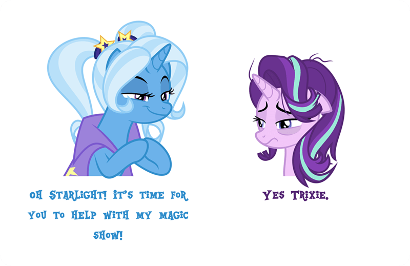 the great and powerful trixie starlight glimmer it's 4pm Memes orin331 - 9493573888