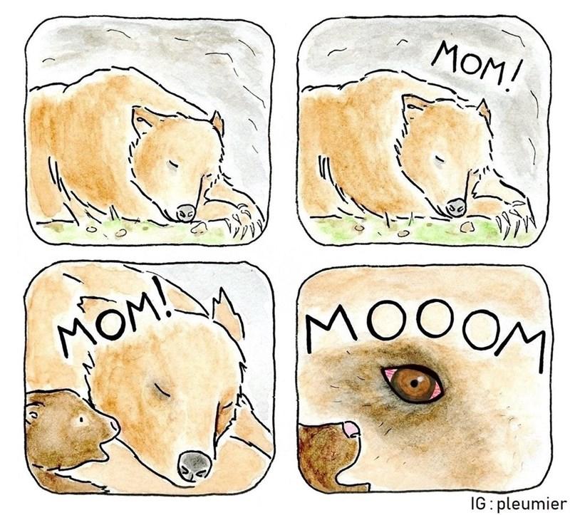 Head - MOM! MOM! MOOOM IG: pleumier