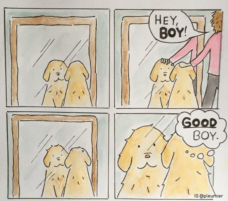 Cartoon - HEY, ΒΟΥ GOOD ΒΟΥ. IG @pleumier