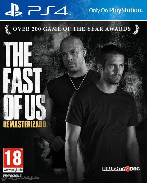Magazine - B PS4. Only On PlayStation. OVER 200 GAME OF THE YEAR AWARDS THE THE FAST OF US UFUS REMASTERIZADO 18 NAUGHTY DOG www.pegi.info PROVISIONALegos