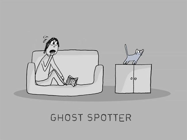 Cartoon - GHOST SPOTTER