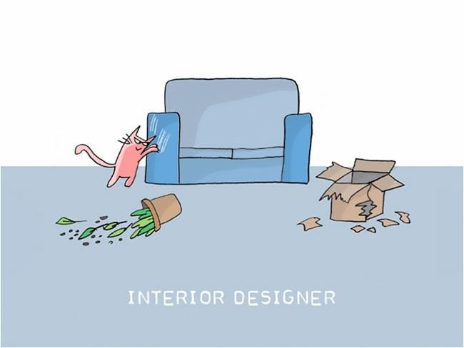 Cartoon - INTERIOR DESIGNER