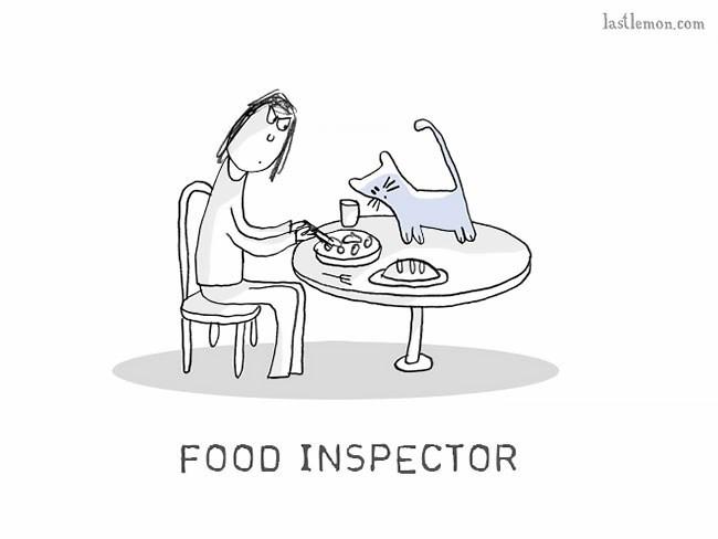 Cartoon - lastlemon.com FOOD INSPECTOR