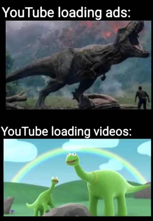 Dinosaur - YouTube loading ads: YouTube loading videos: