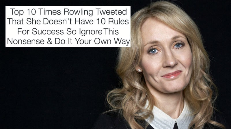 quotes twitter FAIL jk rowling list success