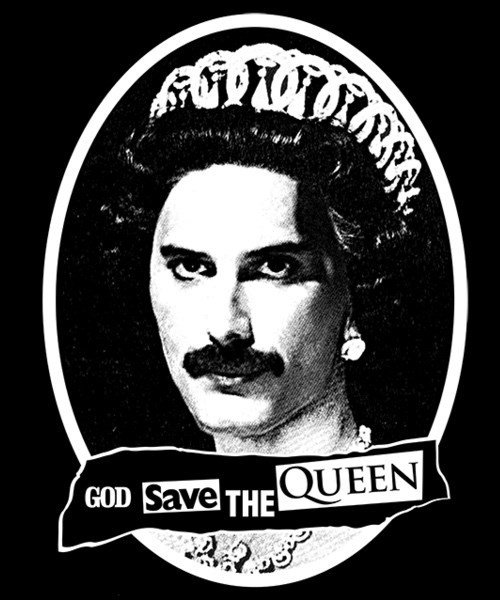 Font - GOD Save THE QUEEN
