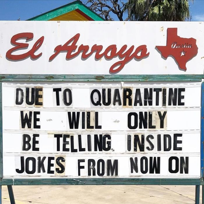 Font - El Arroys DUE TO QUARANTINE WE - WILL ONLY BE TELLING INSIDE JOKES FROM NOW ON