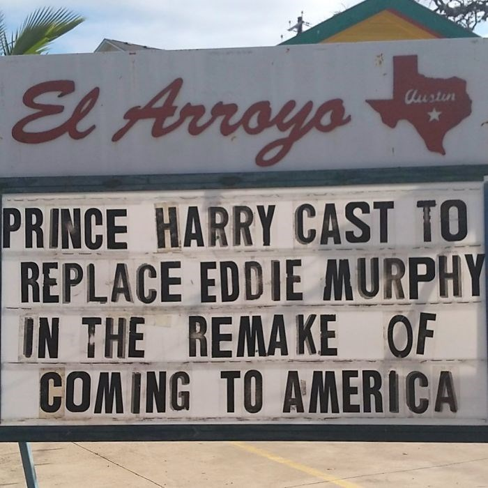 Font - El Arroyo Austin PRINCE HARRY CAST TO REPLACE EDDIE MURPHY IN THE REMAKE OF COMING TO AMERICA