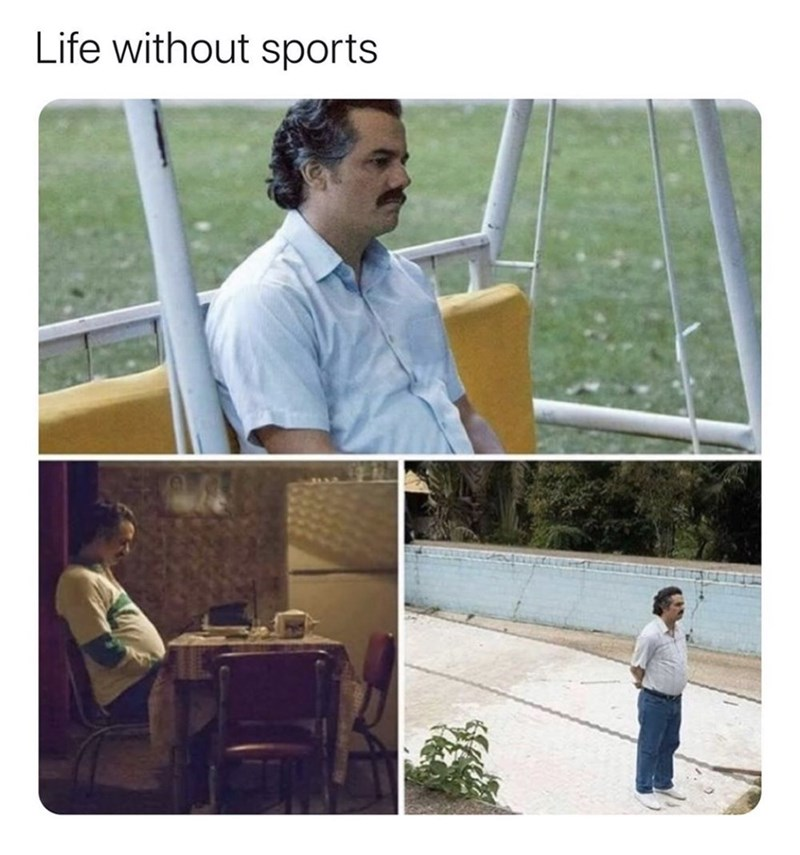Technology - Life without sports