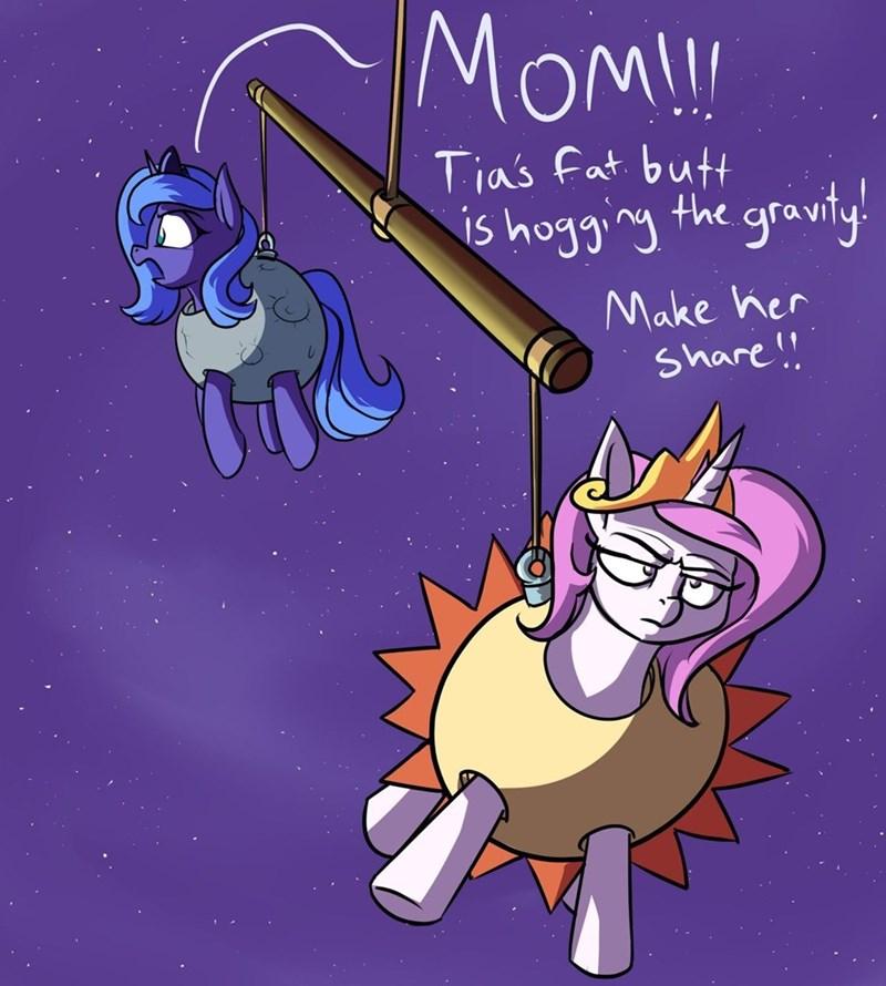 princess luna rocket-lawnchair princess celestia - 9495446784