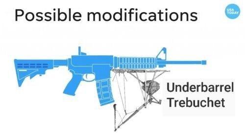 Gun - Possible modifications USA TODAY Underbarrel Trebuchet