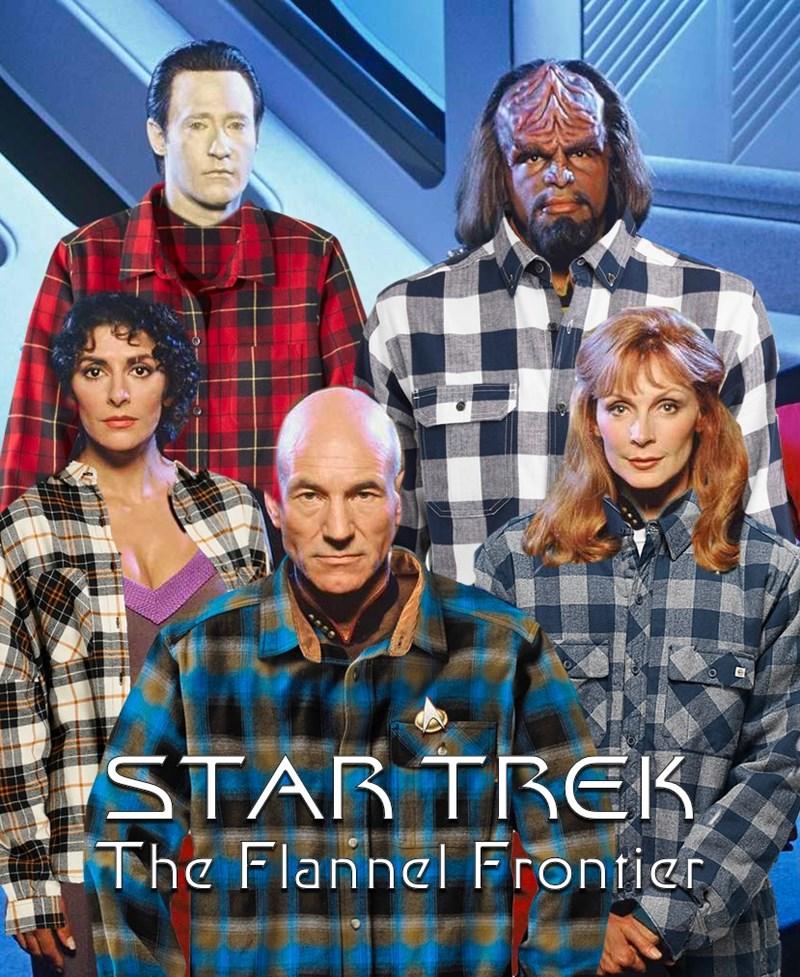 People - STAR TREK, The Flannel Frontier