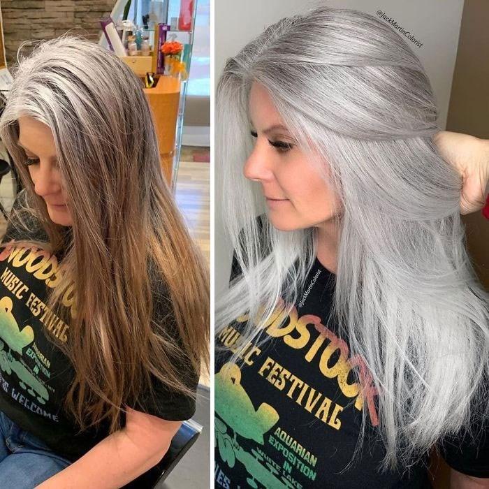 Hair - @jackMartinColorist STOCK MU IC FESTIVAL AQUARIAN EXPOSITION IN NUODS MUSIC FESTIVAL WITE LAKE ejackMartinCalorist EXPION ES