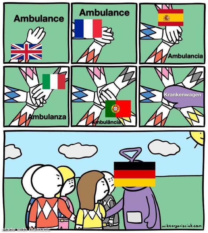 Cartoon - Ambulance Ambulance Ambulancia Krankenwagen Xmbulanza Ahbulância mikeorgenisciak.com made with Ymematic