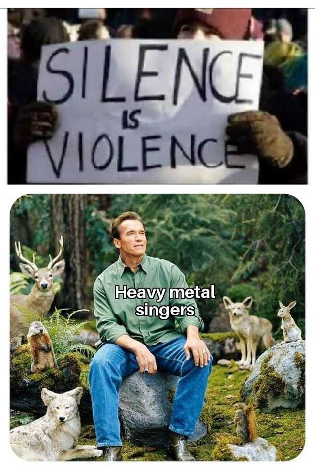Wildlife - SILENCE IS VIOLENCE Heavy metal singers