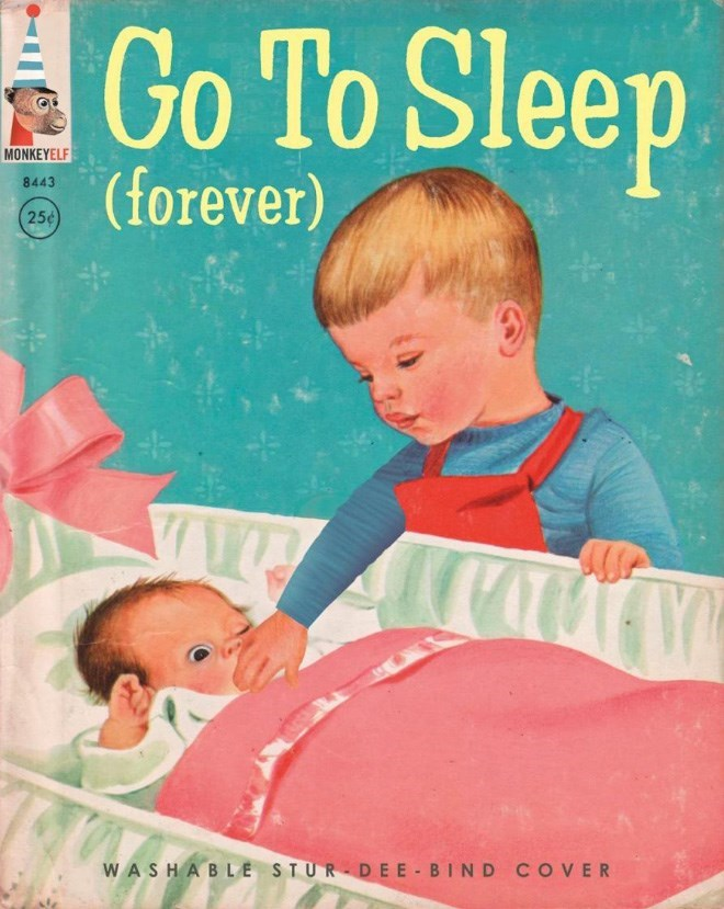 Child - Go To Sleep MONKEYELF (forever) 8443 25¢ WASHABLE STUR-DEE- BIND COVER