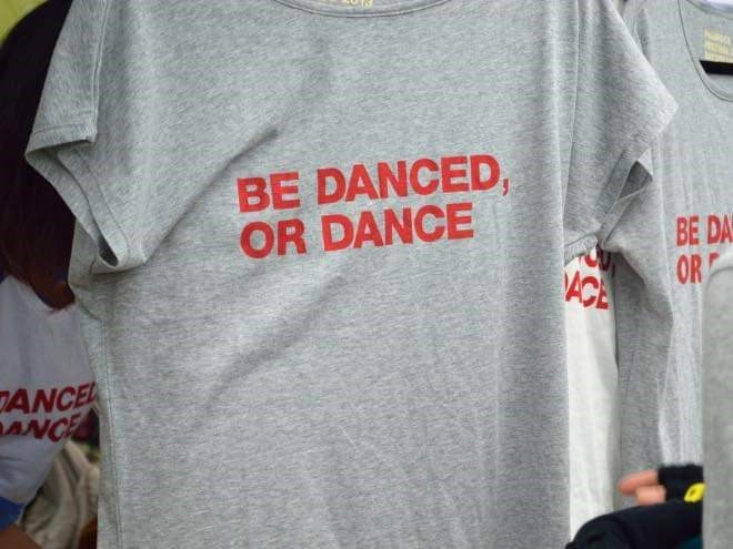 T-shirt - BE DANCED, OR DANCE BE DAS OR ACA JANCE ANCE