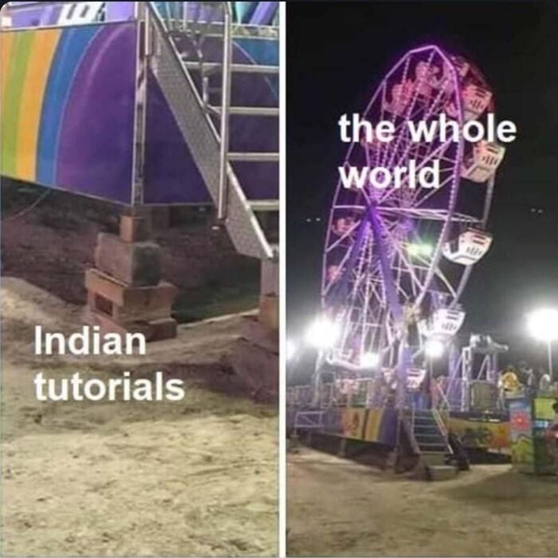 Purple - the whole world Indian tutorials