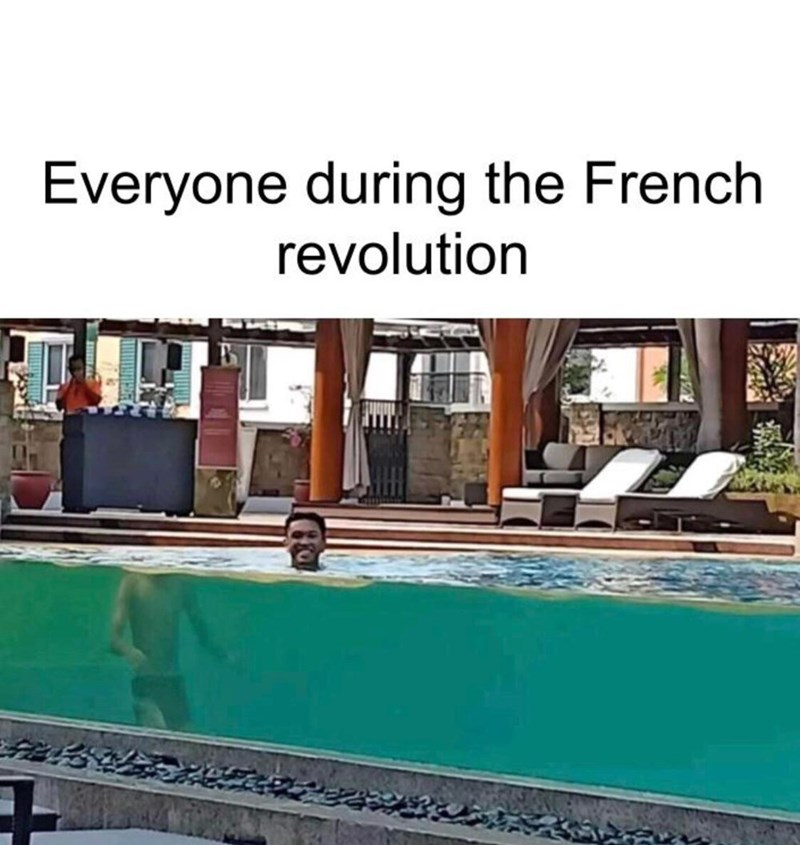Property - Everyone during the French revolution