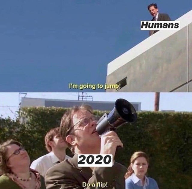 Sky - Humans I'm going to jump! 2020 Do a flip!