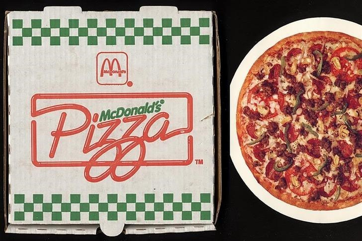 Pizza - AA Pezza OMcDonald's TM