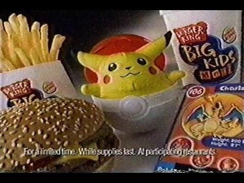 Junk food - ERGER KING BIG KIDS ING 106 Charla Foraimadtme. While supplies last Apartiopeigisarats